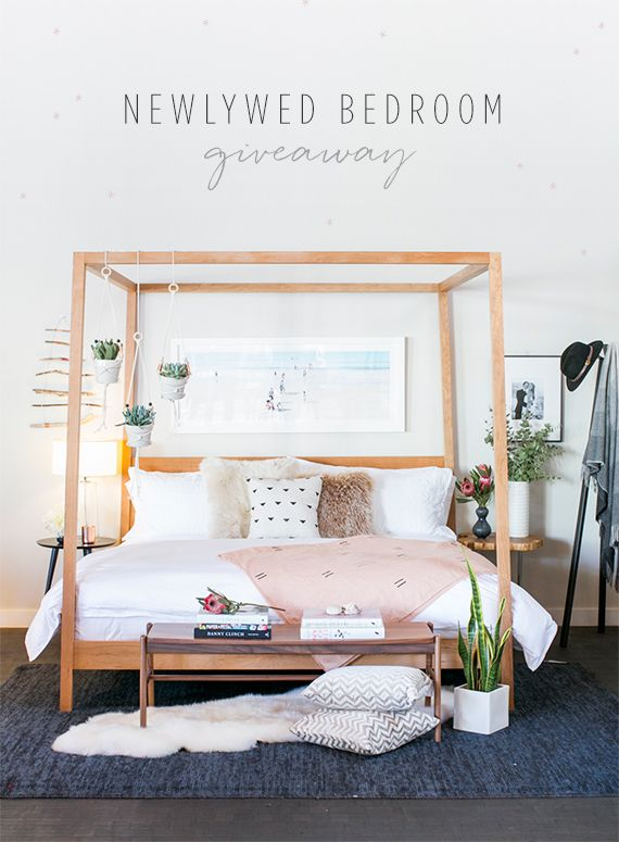 Newlywed Bedroom giveaway with Room & Board and 100 Layer Cake | Photo by Scott Clark | See more at 100layercake.com/blog