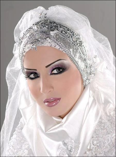 Beautiful Muslim bride.