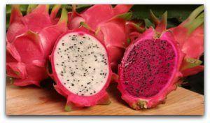 Dragon Fruit (pitaya) health benefits & recipes
