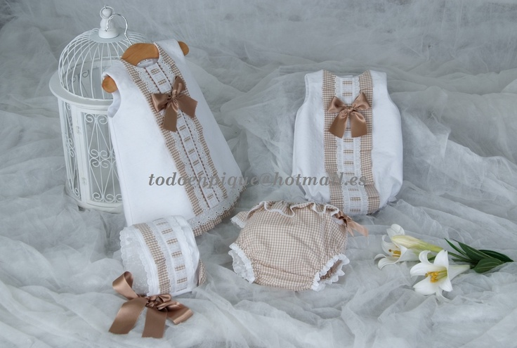 62 best Spanish hand made baby clothes images on Pinterest