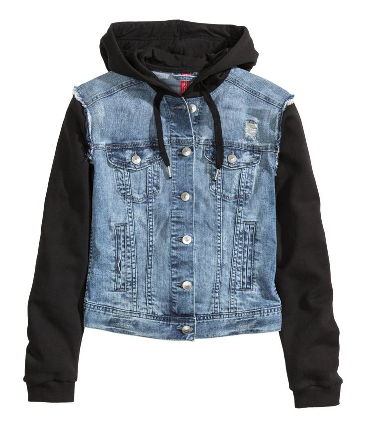 Denim Jackets Outerwear. Clothing. Women. Womens Coats & Jackets Cover Girl Jeans Denim Jacket for Women Distressed Long Sleeve Size Small Denim Blue. Product Image Women Distressed Long Sleeve Size Small Denim Blue. See Details. Product - Girl12Queen Women's Winter Classic Style Flocked Hooded Toggle Duffle Coat Jacket Outerwear.
