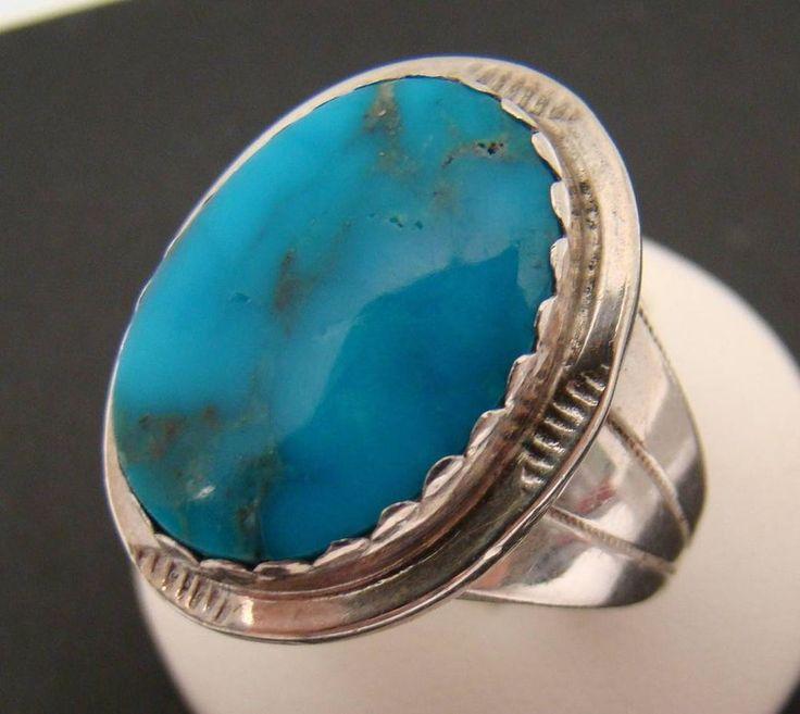 harold trujillo 925 sterling silver mens ring sz 11 75