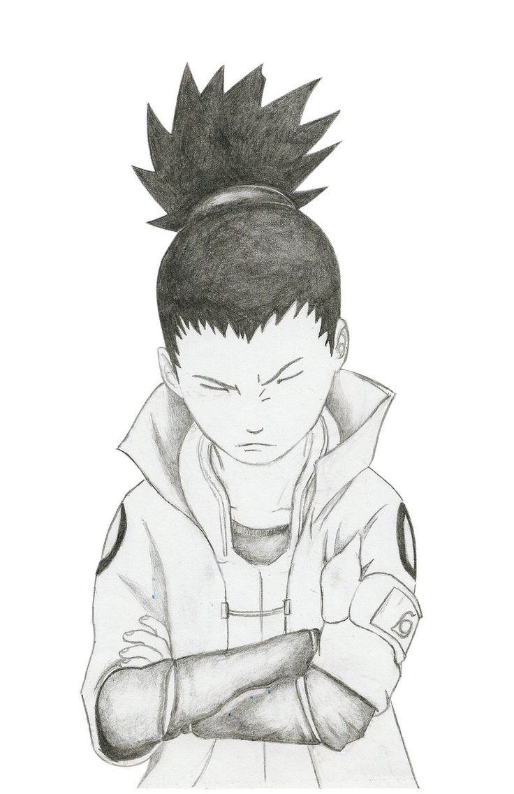 shikamaru hokage  ;p my draw