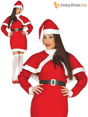 Ladies santa #claus #costume adults mrs christmas fancy dress womens xmas #outfit,  View more on the LINK: http://www.zeppy.io/product/gb/2/401218226402/