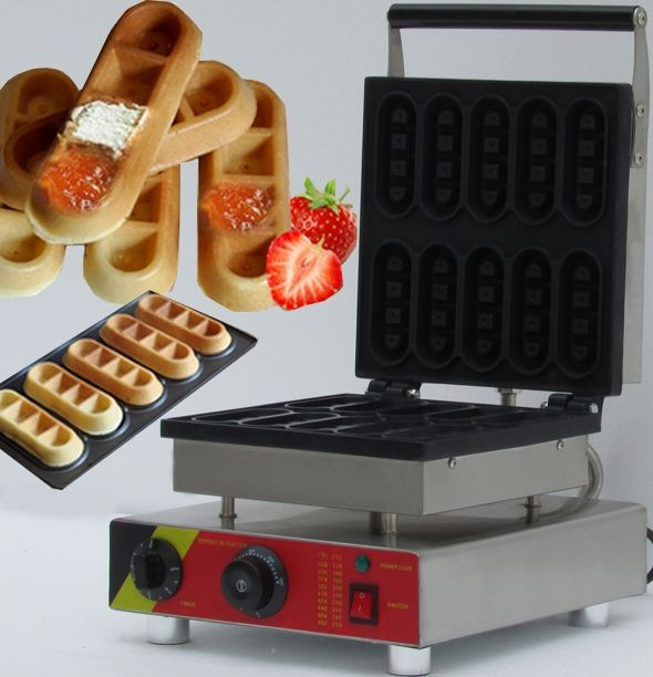 """220.00$  Buy now - http://aliftu.worldwells.pw/go.php?t=32674020232 - """"Industrial waffle maker machine"""