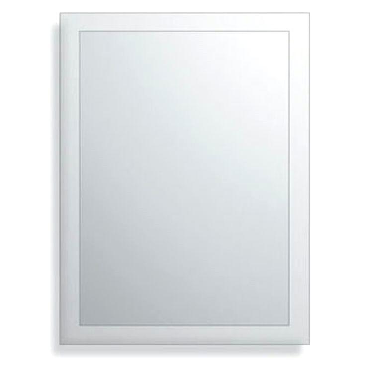 De Plieger Basic Spiegel Facetrand 60 X 60 Cm Is Een Spiegel