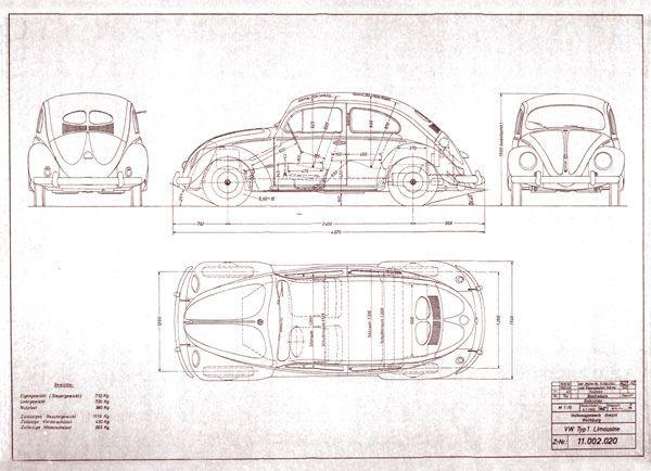 Vw K 228 Fer Technical Drawing Pinterest Vw K 228 Fer Und K 228 Fer