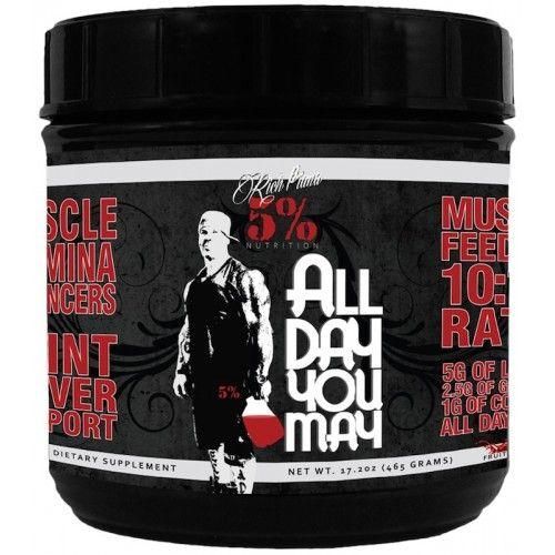 Rich Piana 5% Nutrition AllDayYouMay (465g)