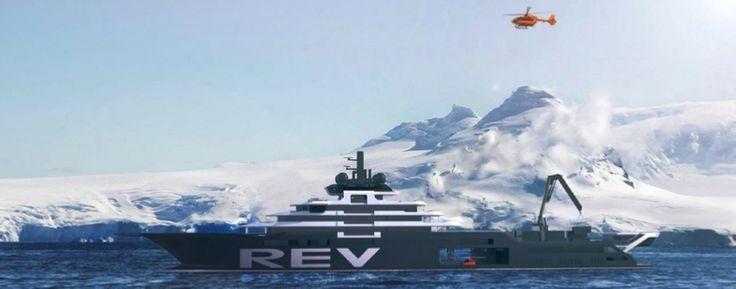 180 metros expedición del yate - Kjell Inge Rokke