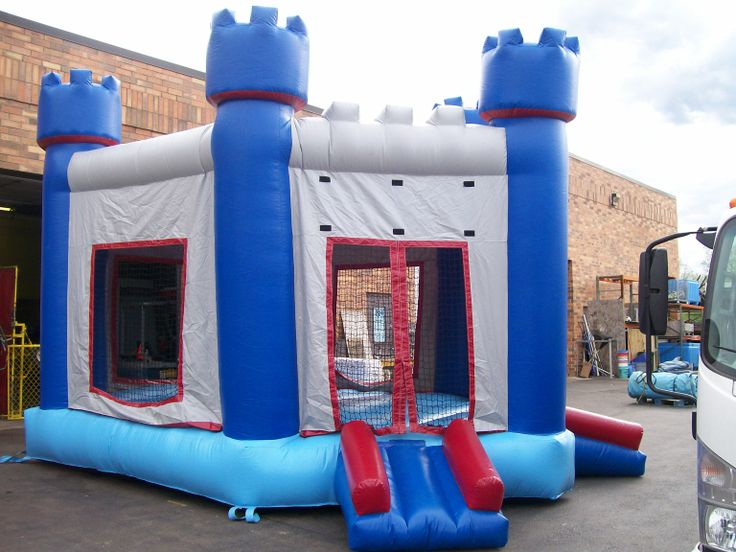 Castle Themed Moonwalk! For the royals in all of us! Chicago Party Rentals
