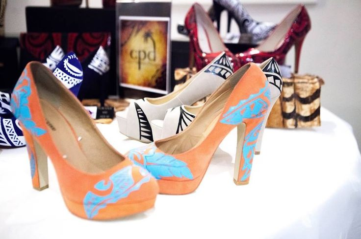 Models shoes by Coco Passions Design