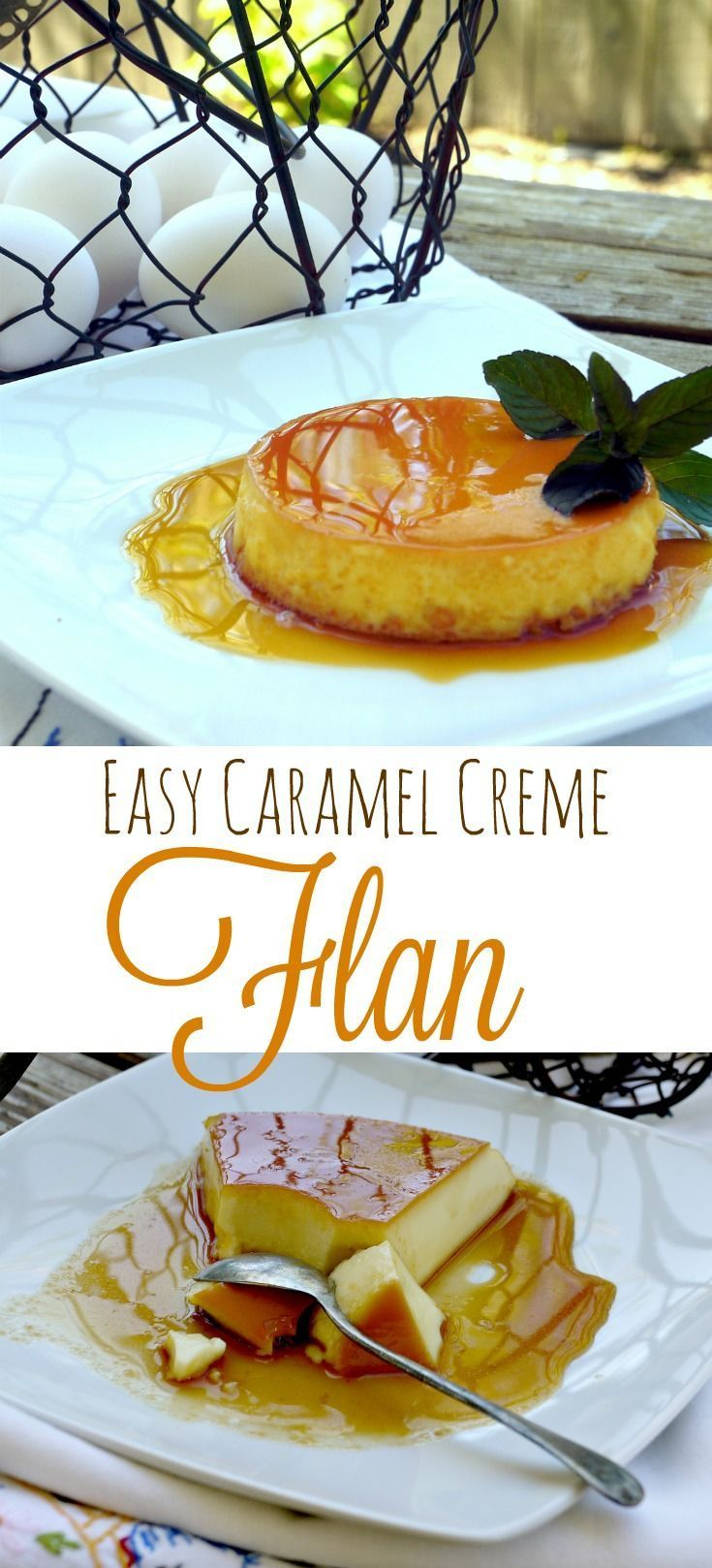 Traditional Caramel Creme Flan {Recipe} - includes my 4 Easy Tricks for Success | The Good Hearted Woman