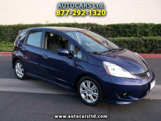 Hatchback, 2009 Honda Fit Sport with 4 Door in La Puente, CA (91744)