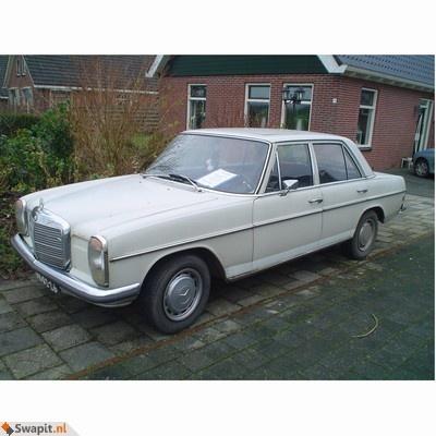Mercedes 230.6 op LPG ruilen voor Audi 80/100 diesel of LPG of BMW (van voor 1986) of bieden