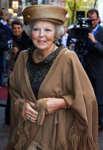Princess Beatrix, October 31, 2014   Royal Hats