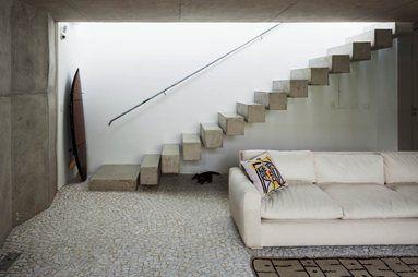 Weekend House in Downtown So Paulo, São Paulo, 2013 - SPBR arquitetos #stairs