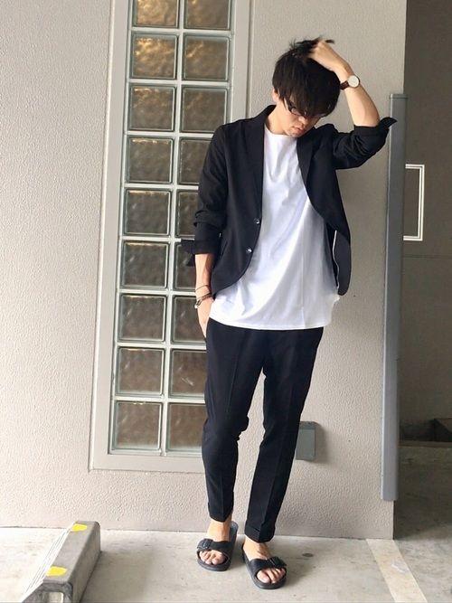 夏でもスーツをクールに!シアサッカーセットアップコーデ!! 昨日、大阪グランフロントのセールにてナノ