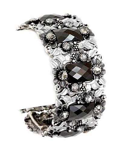 Crystal Cuff Bangle Bracelets