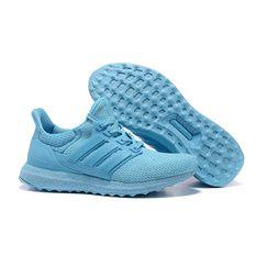 Adidas Women's Ultra Boost Running Shoes Blue