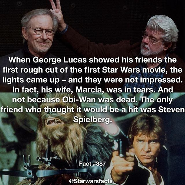 That's awesome @starwarsfacts_ I #love it! And Steven Spielberg earned like $45…