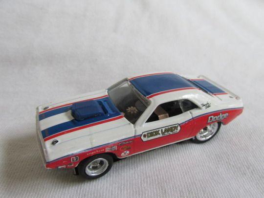 Custom Slot Super Stock Car #slot car #Dick Landy #'71 Challenger #dragster #Dick Landy Racing Team #4gear #drag racing #slot-car #slotcar #slot dragster #diecast
