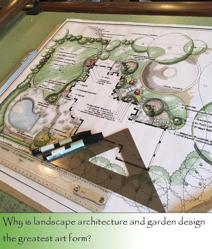 Why Is Landscape Design The Greatest Art Form Garden Design