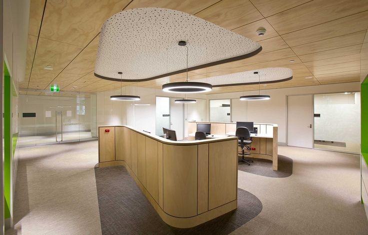 Bolon flooring in Geelong Hospital in Geelong, Australia