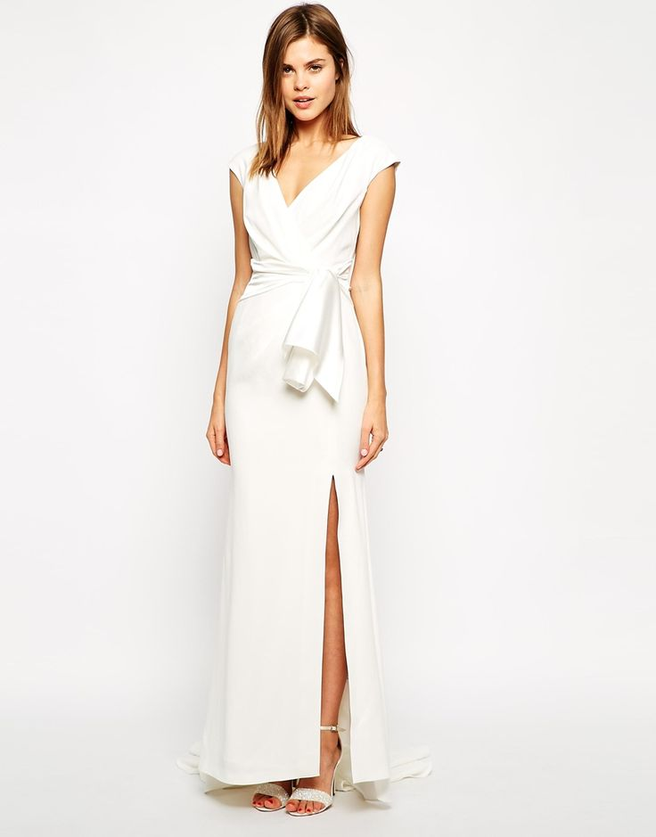 Coast | Coast Kate Maxi Dress with Thigh Split at ASOS