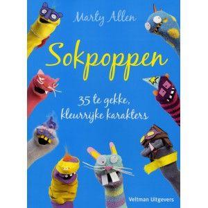 Sokpoppen : 35 te gekke, kleurrijke karakters -  Allen, Marty -  plaats 794
