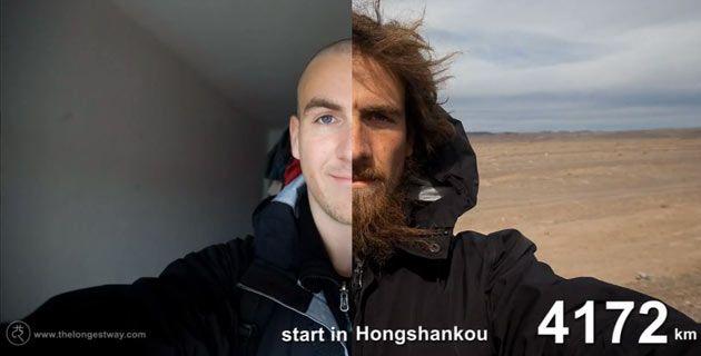 """Quando completou 26 anos, no outono de 2007, o alemão Christoph Rehage resolveu realizar um sonho: percorrer a China a pé. Foram mais de 4.500 quilômetros percorridos entre Pequim e Urumqi. A aventura, batizada de """"O caminho mais longo"""", durou pouco mais de um ano e foi toda registrada em autorretratos, o famoso 'selfie'. O...<br /><a class=""""more-link""""…"""