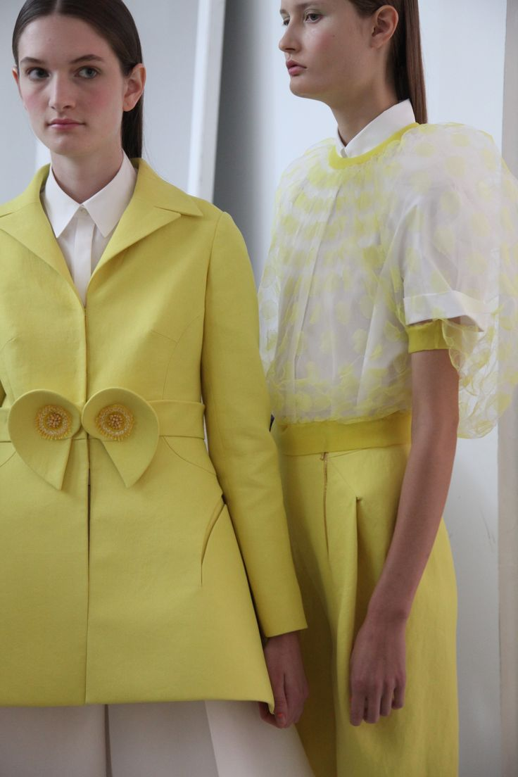 Inspired by Albers, #DelpozoSS15 simultaneously achieves a pictorial visual impact and a powerful expression full of sensitivity.