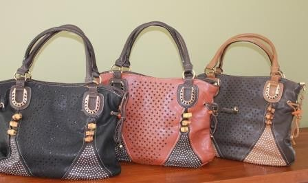 Super Soft Touch with A touch of Bling – Jewels Handbag Collection. www.jewelsHandbaghut.com
