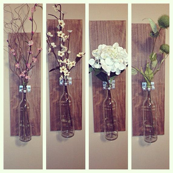 25 best ideas about wall vases on pinterest hanging for Bathroom decor vases