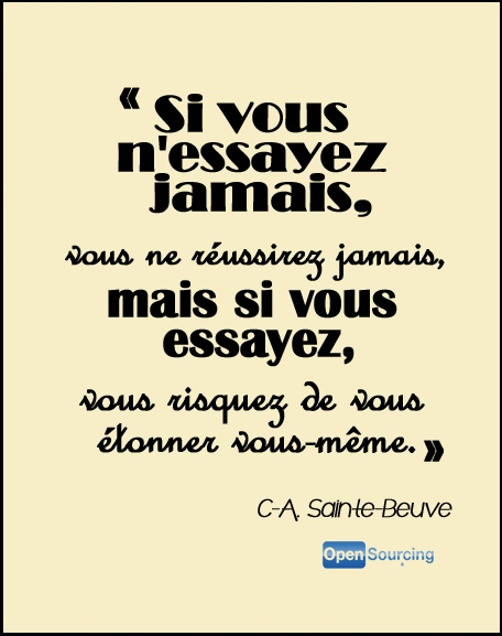 Citation de Charles-Augustin Sainte-Beuve, écrivain
