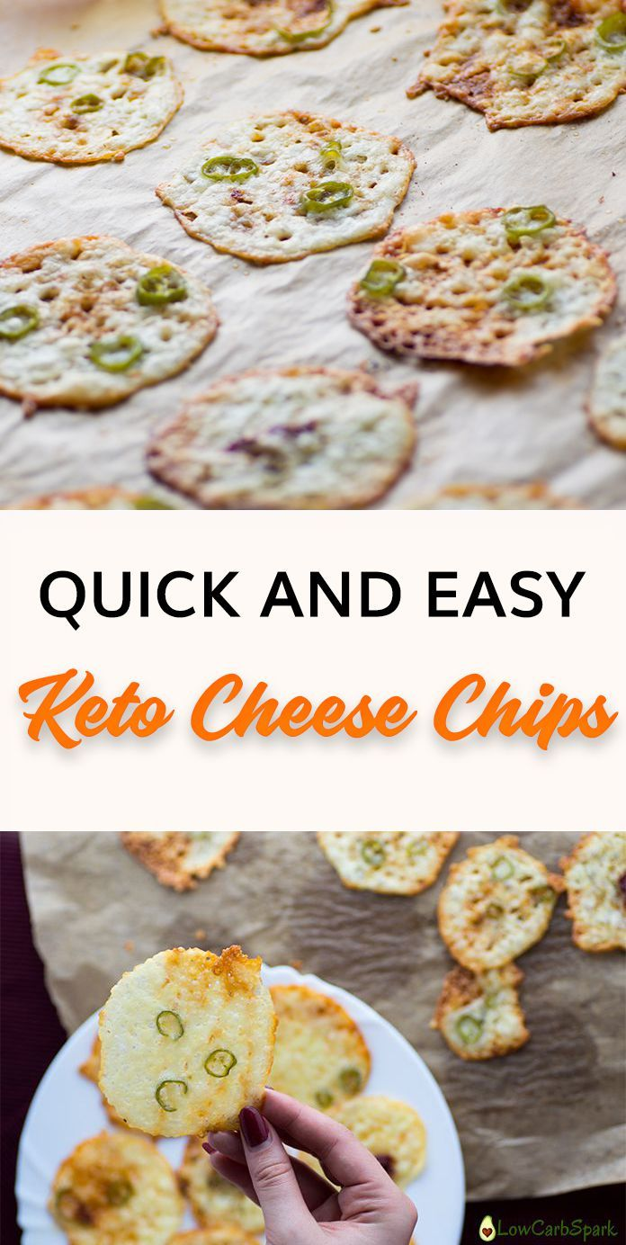 Quick And Easy Keto Cheese Chips Recipe Cheese Chips Keto