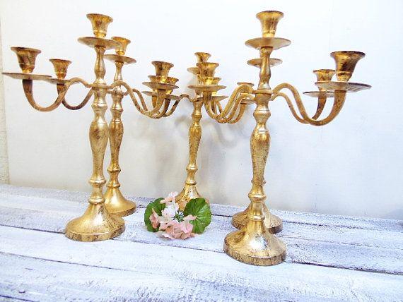 Hey, I found this really awesome Etsy listing at https://www.etsy.com/listing/235560461/15-wedding-candelabras-3-arm-shabby