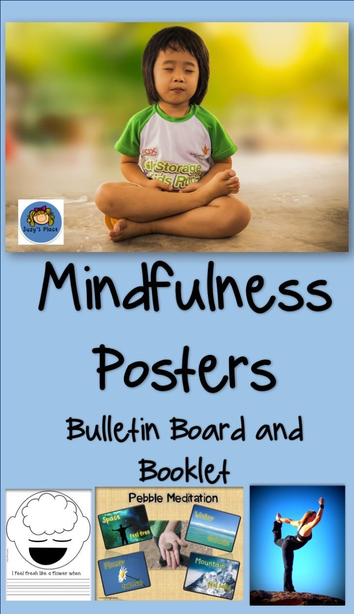 Hurry!! Just added to my store! 20% off the first 24 hours.  Teaching Mindfulness has just become easy with these beautiful posters and cute booklet.