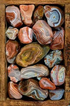 The MN State gem: Beautiful Lake Superior Agates - found on both north (MN) and south (WI) shores of Lake Superior.