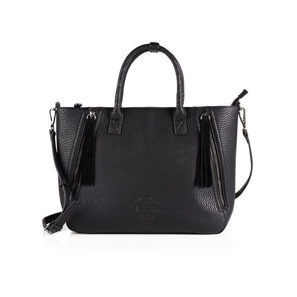 Superdry Karah Zipped Handbag (1,060 MXN) ❤ liked on Polyvore featuring bags, handbags, shoulder bags, black, purse shoulder bag, superdry, handbags shoulder bags, zip purse and zipper handbag