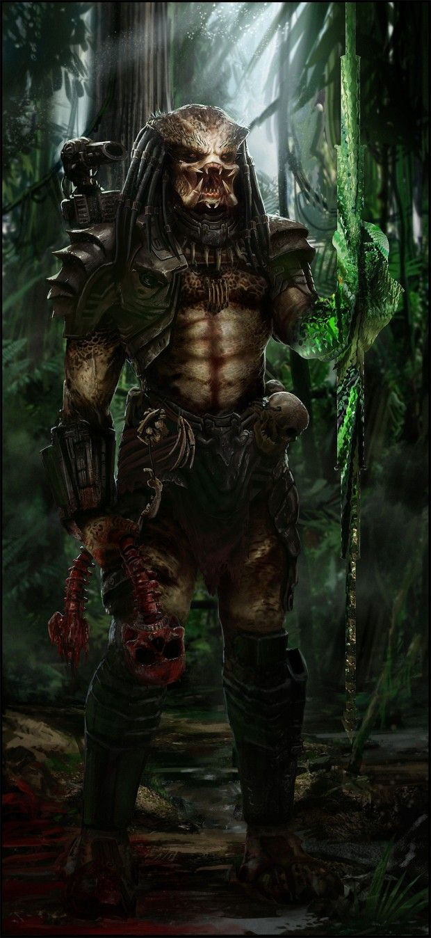 THIS is why I fangirl so much over avp.  Predator  Auction your comics on http://www.comicbazaar.co.uk