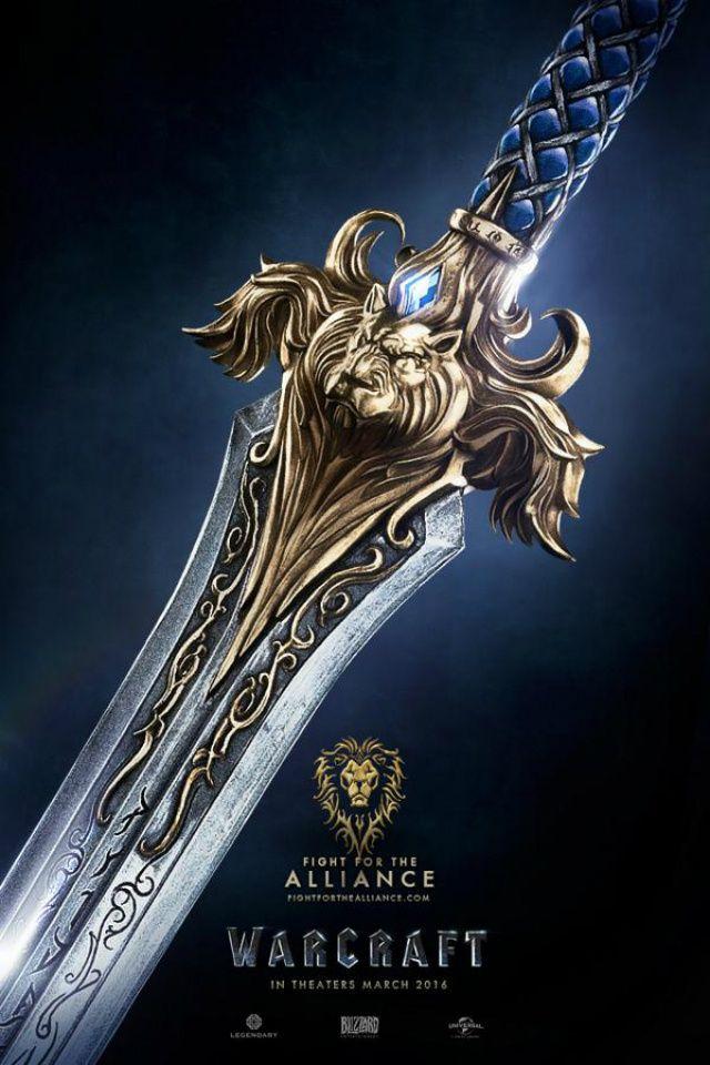 Cartaz da Aliança em Warcraft