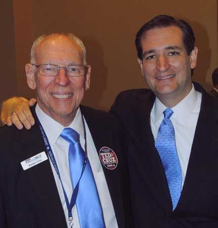 Ted Cruz's Father Delivers Epic Speech Lambasting Obama's 'Socialist' Inclinations.  It seems to me the republicans and the democrats dislike Ted Cruz!! That means he is doing something RIGHT!!!!