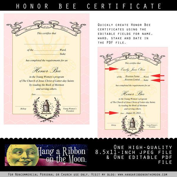 Más de 25 ideas fantásticas sobre Bee Certificate en Pinterest - blank share certificates