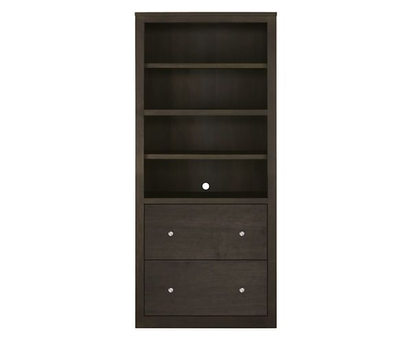 Room & Board - Woodwind 72h 32x17 Two File-Drawer Bookcase - 8 Best Bookcases Images On Pinterest Bookcases, Home Offices And