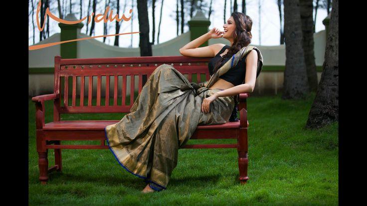 """Fashion is about dreaming and making other people dream"". Donatello Vercase. Designer: Vidhi Singhania Photo: Sharat Chandra Model:Lekha Prajapati"