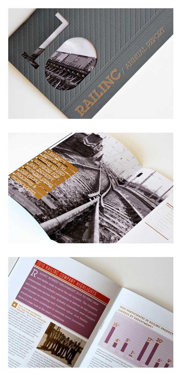 Texture, façonnage et mise en page ! Superbe ! Brochure design