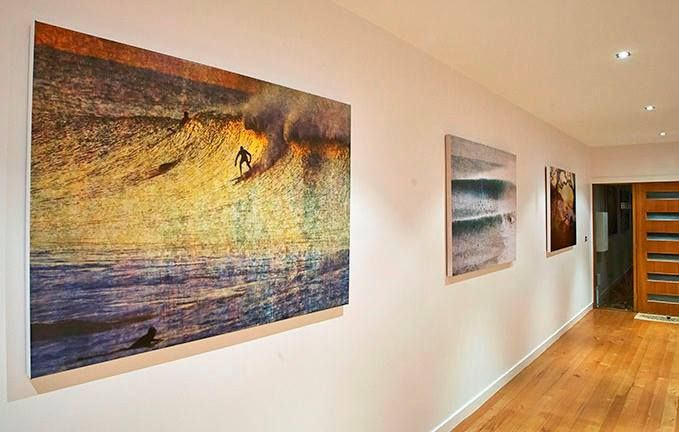 Dreaming about being down the coast today. If you are heading down to Torquay, don't forget to visit surfcoastimages, where you can find some amazing artwork that will be sure to make your home a little cooler.
