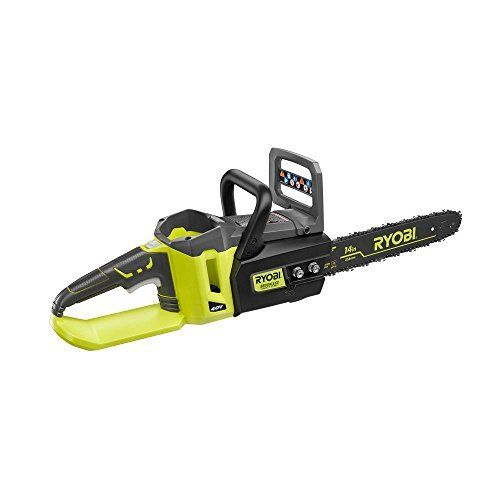 14 in. 40-Volt Brushless Chainsaw without Battery and Charger