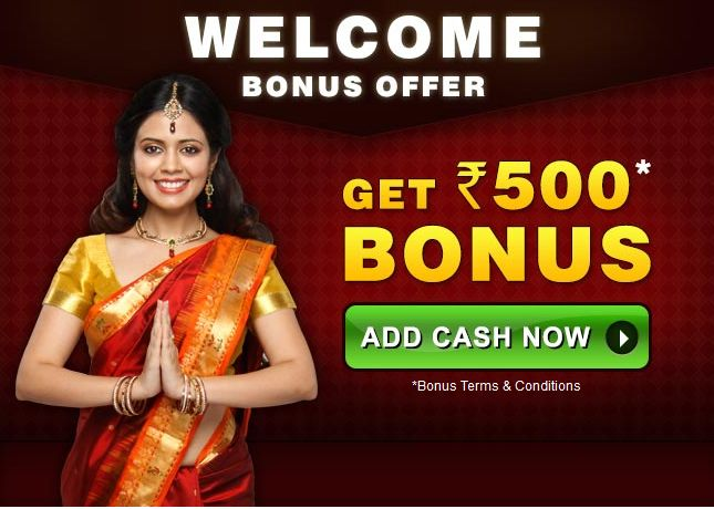 Welcome Bonus Now 1000 rs, Register Now. https://www.rummycircle.com/