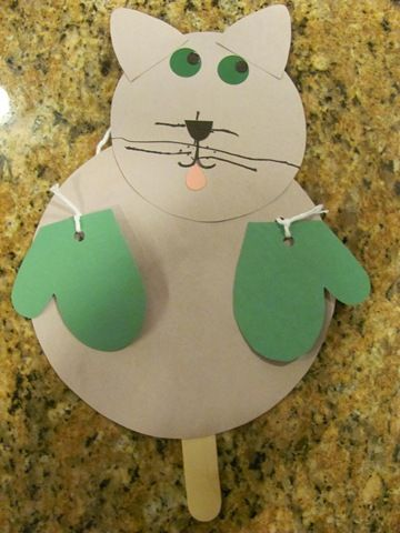 Squish Preschool Ideas Many Mitten Crafts This Is A